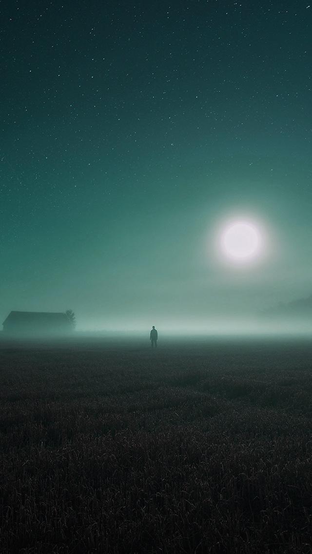 freeios8.com-iphone-4-5-6-plus-ipad-ios8-bh94-sunrise-fog-field-art-blue