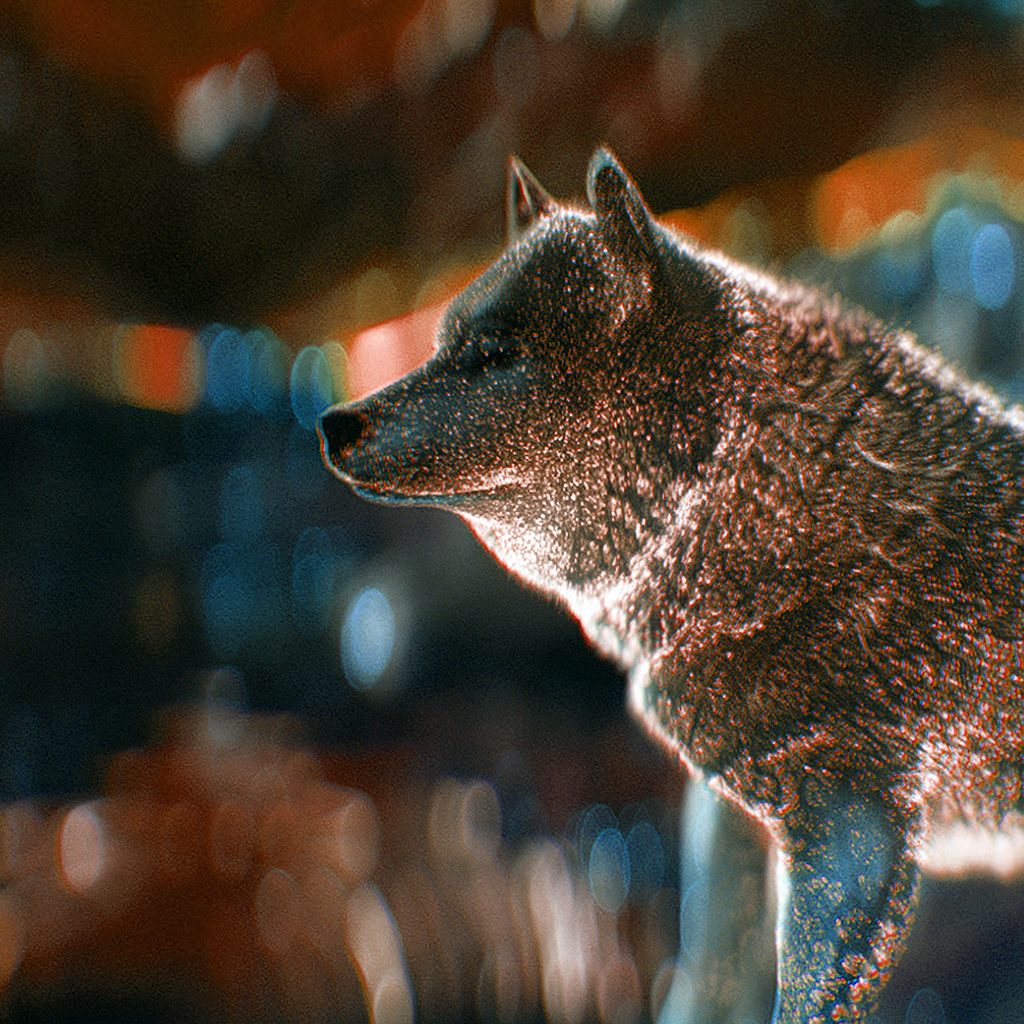 android-wallpaper-bi07-wolf-digital-dot-art-red-wallpaper