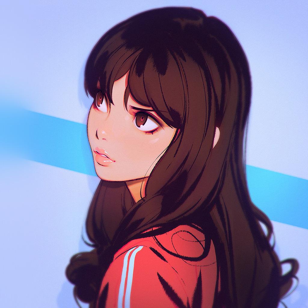 android-wallpaper-bi30-ilya-girl-illust-art-sporty-wallpaper