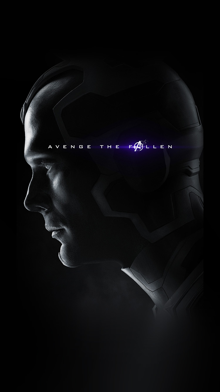 Papers.co-iPhone5-iphone6-plus-wallpaper-bi32-avengers-poster-endgame-hero-film-marvel-chractor-art-vision