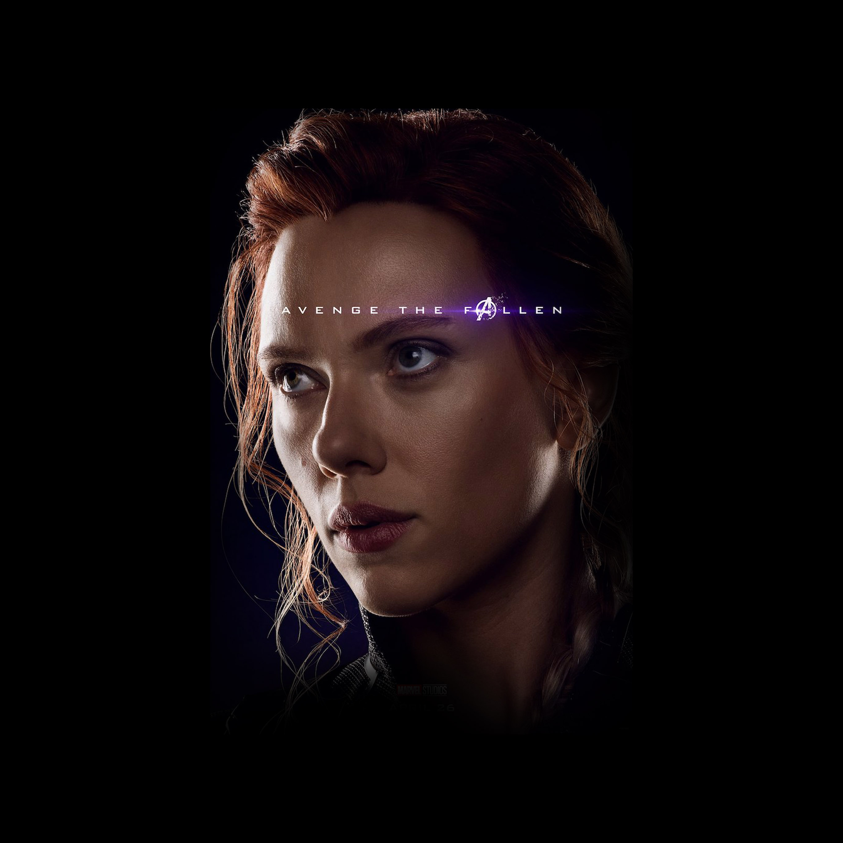 Bi42 Avengers Black Widow Hero Endgame Poster Marvel Art