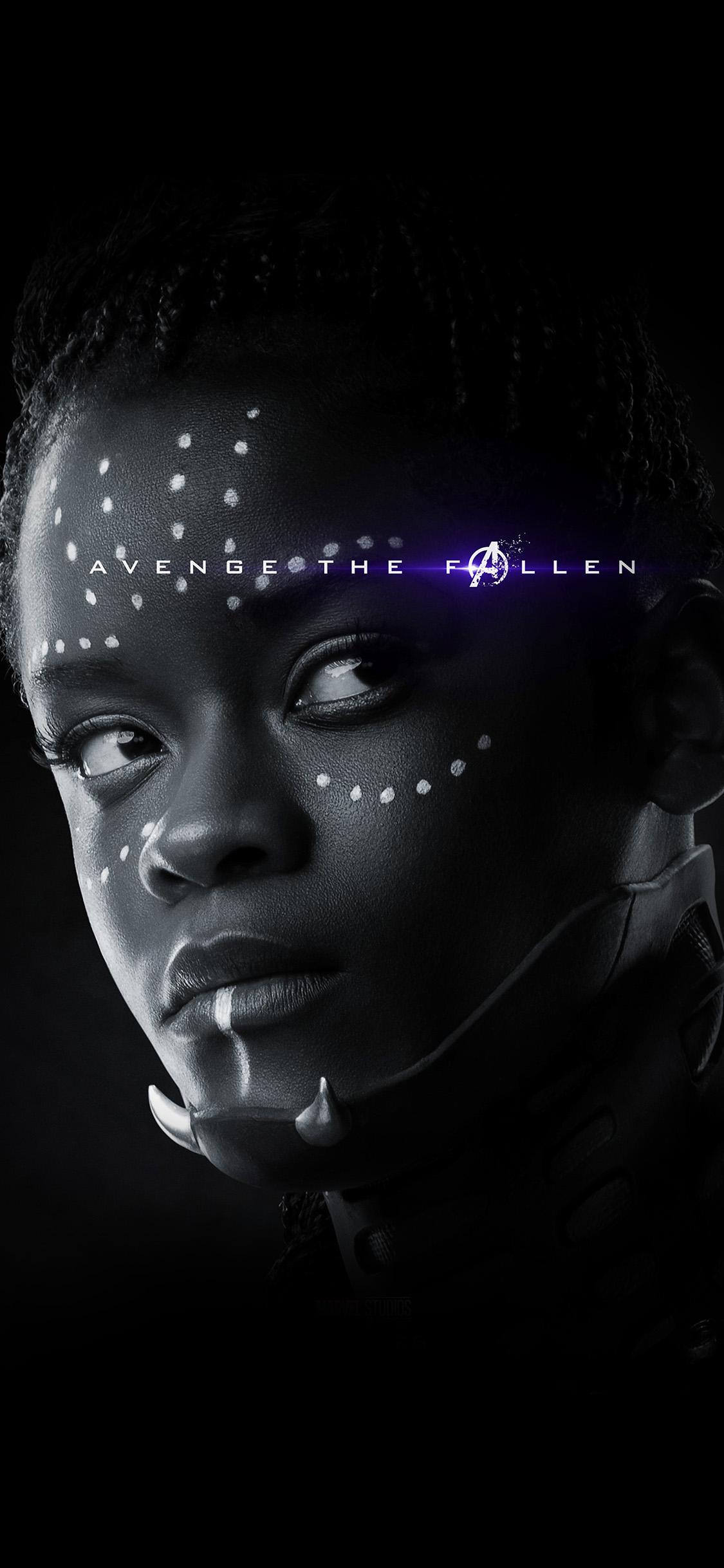 iPhonexpapers.com-Apple-iPhone-wallpaper-bi51-avengers-marvel-endgame-hero-bw-art-poster