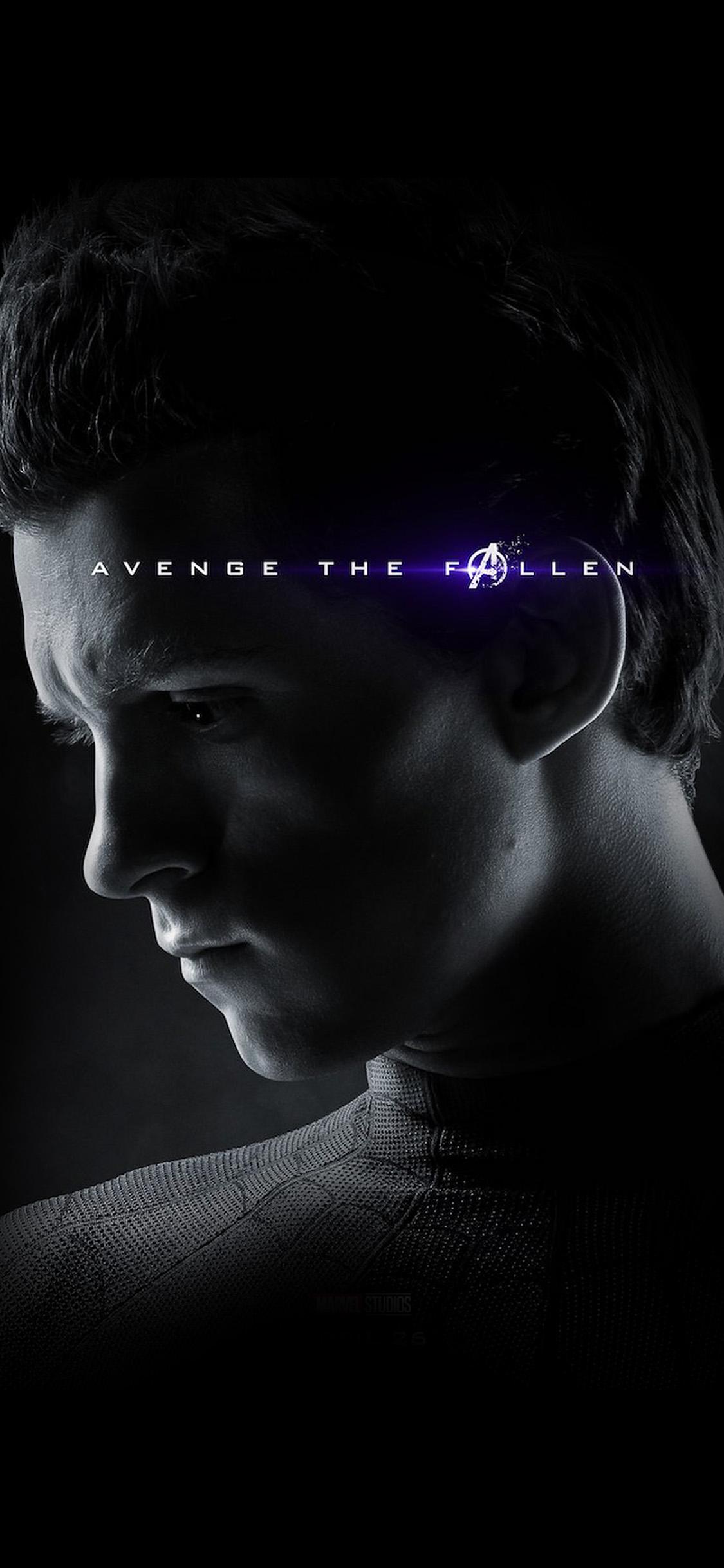 Bi52 Spider Man Marvel Endgame Hero Film Poster Art Wallpaper