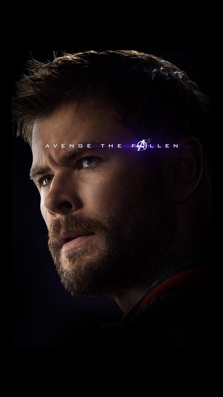 Papers.co-iPhone5-iphone6-plus-wallpaper-bi55-torr-avengers-marvel-hero-endgame-poster-film-art