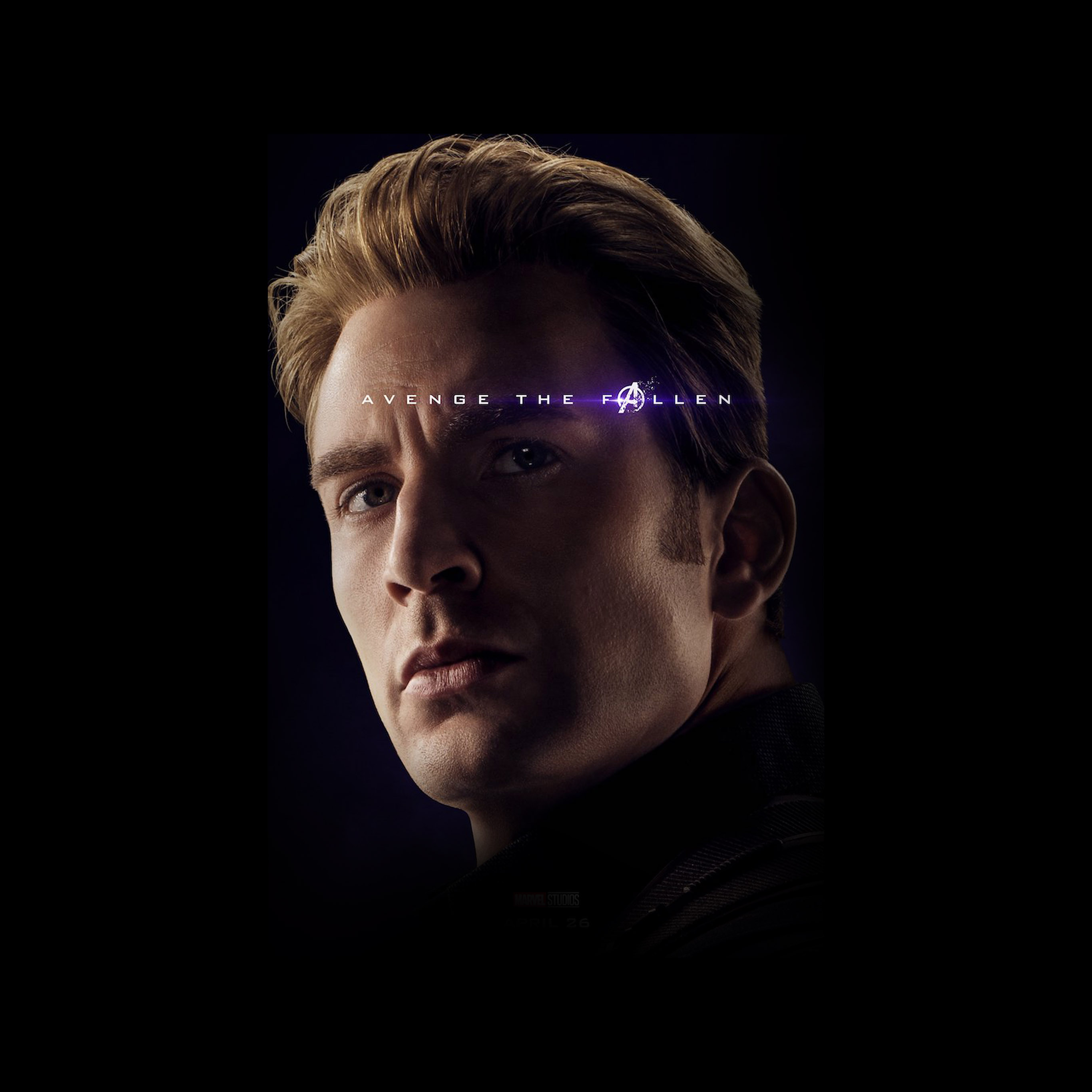 Bi56 Captain America Avengers Endgame Hero Film Marvel Art Wallpaper