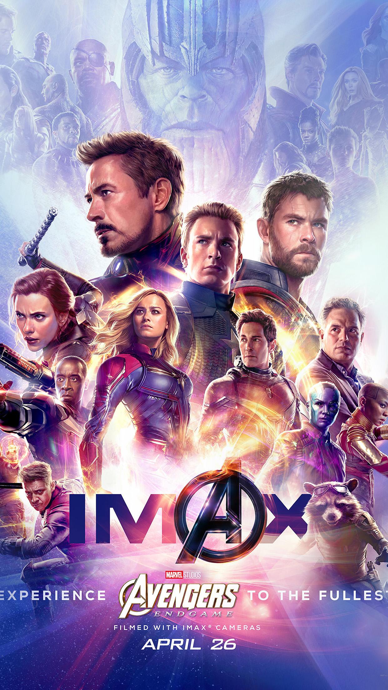 Bi65 Marvel Poster Avengers Endgame Film Comic Art Wallpaper
