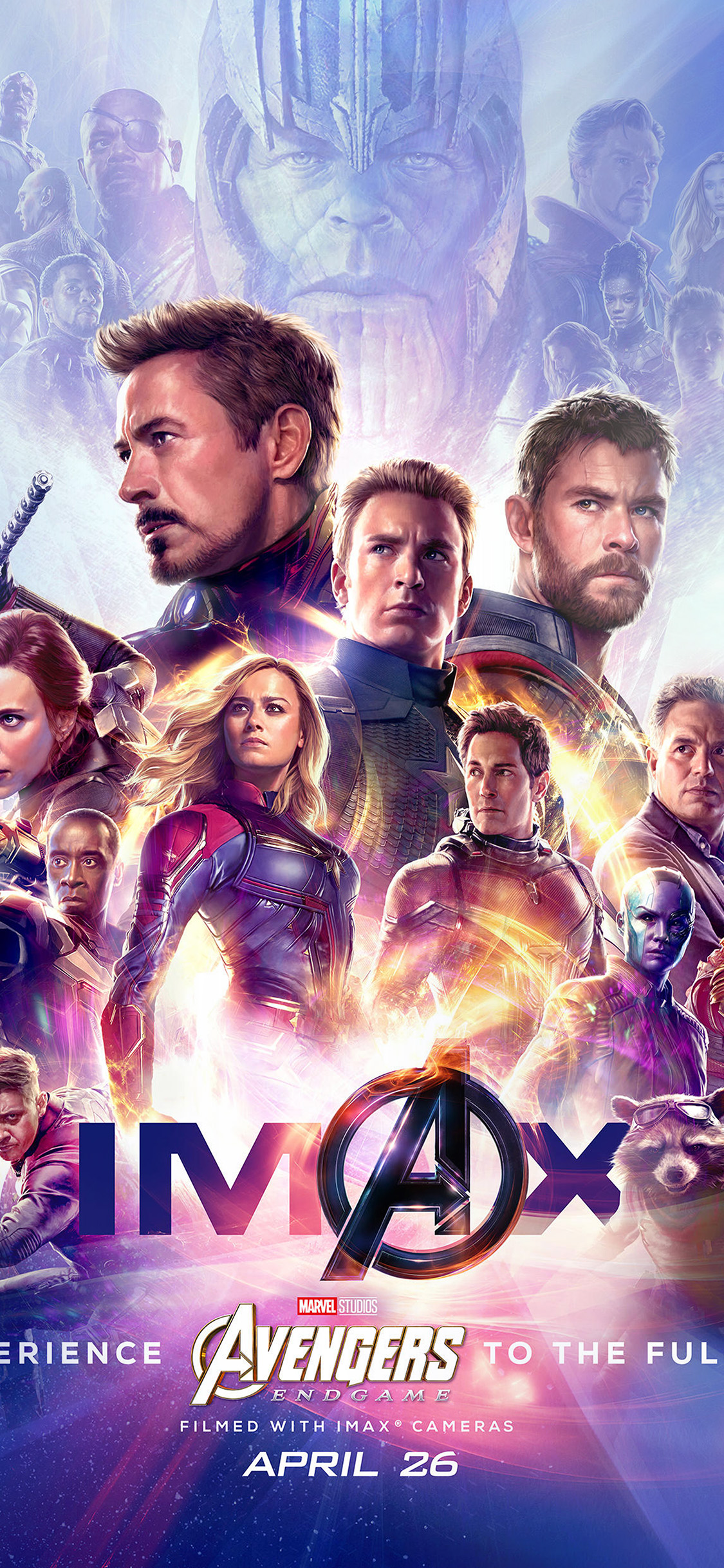 Papersco Iphone Wallpaper Bi65 Marvel Poster Avengers Endgame