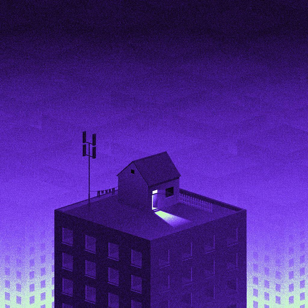android-wallpaper-bi85-illust-purple-city-home-dot-art-wallpaper
