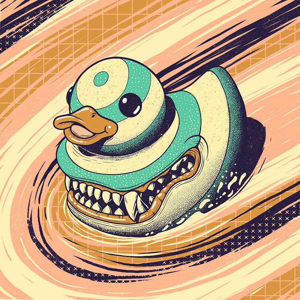 android-wallpaper-bi89-duck-illust-shart-art-wallpaper