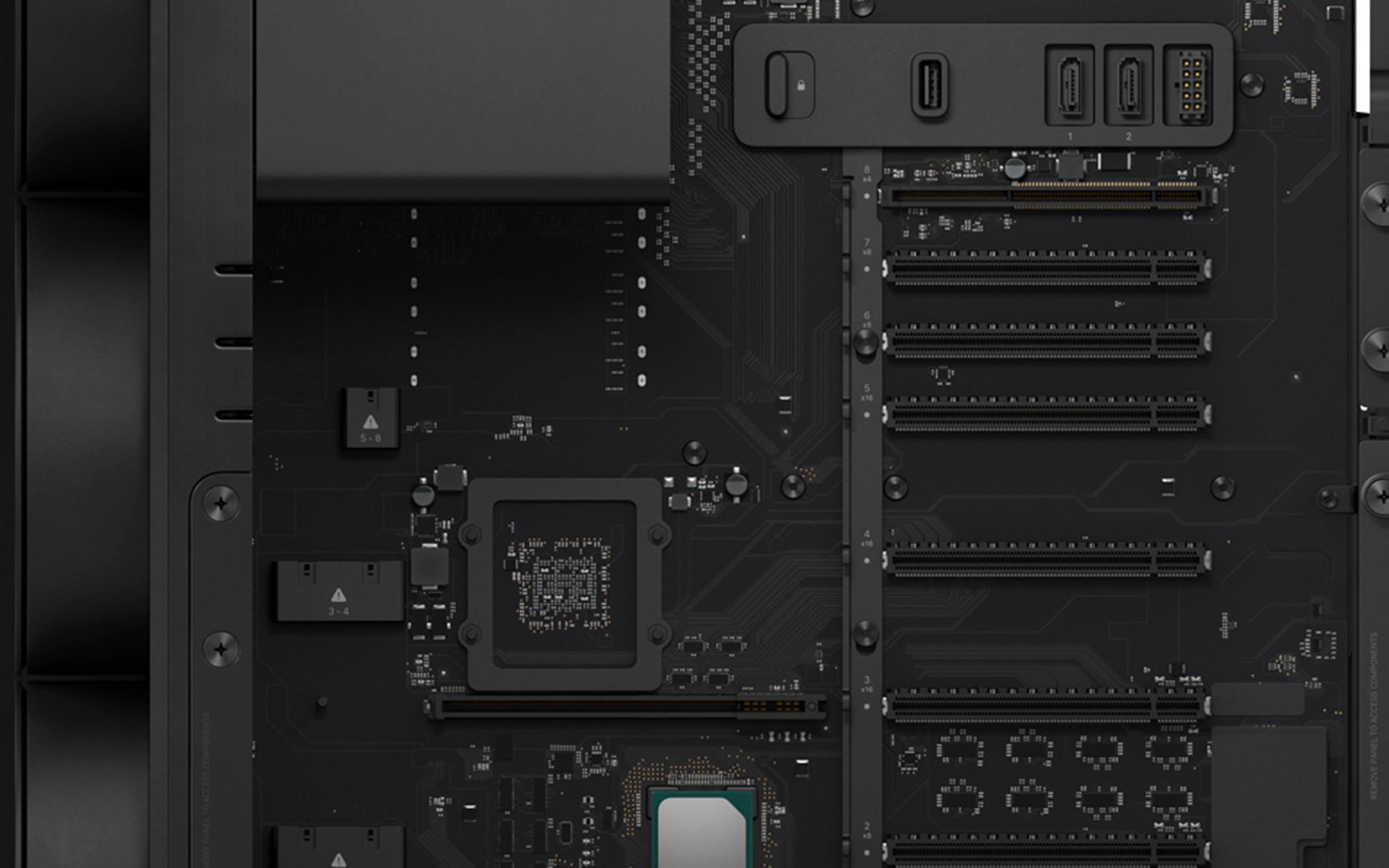 Bj08 Mac Pro Inside Apple Art Wallpaper
