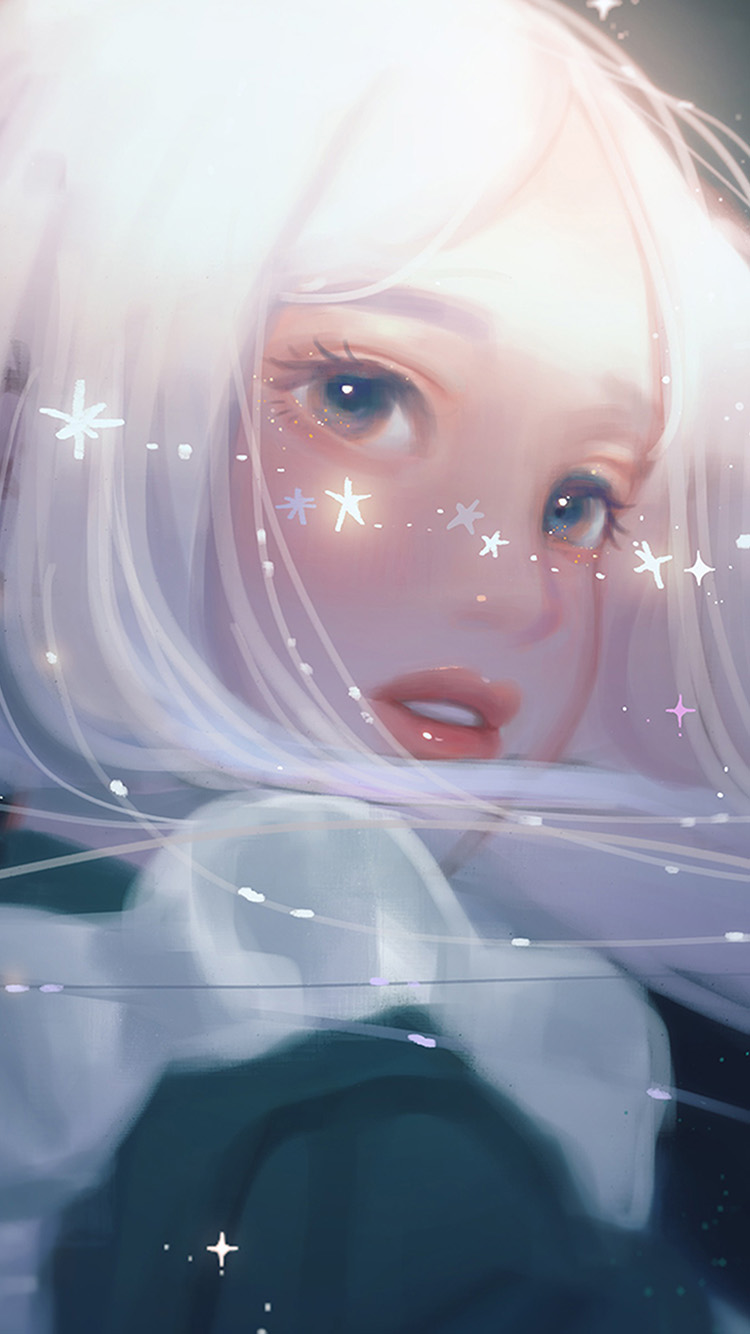 iPhone7papers.com-Apple-iPhone7-iphone7plus-wallpaper-bj12-art-girl-white-anime-cute