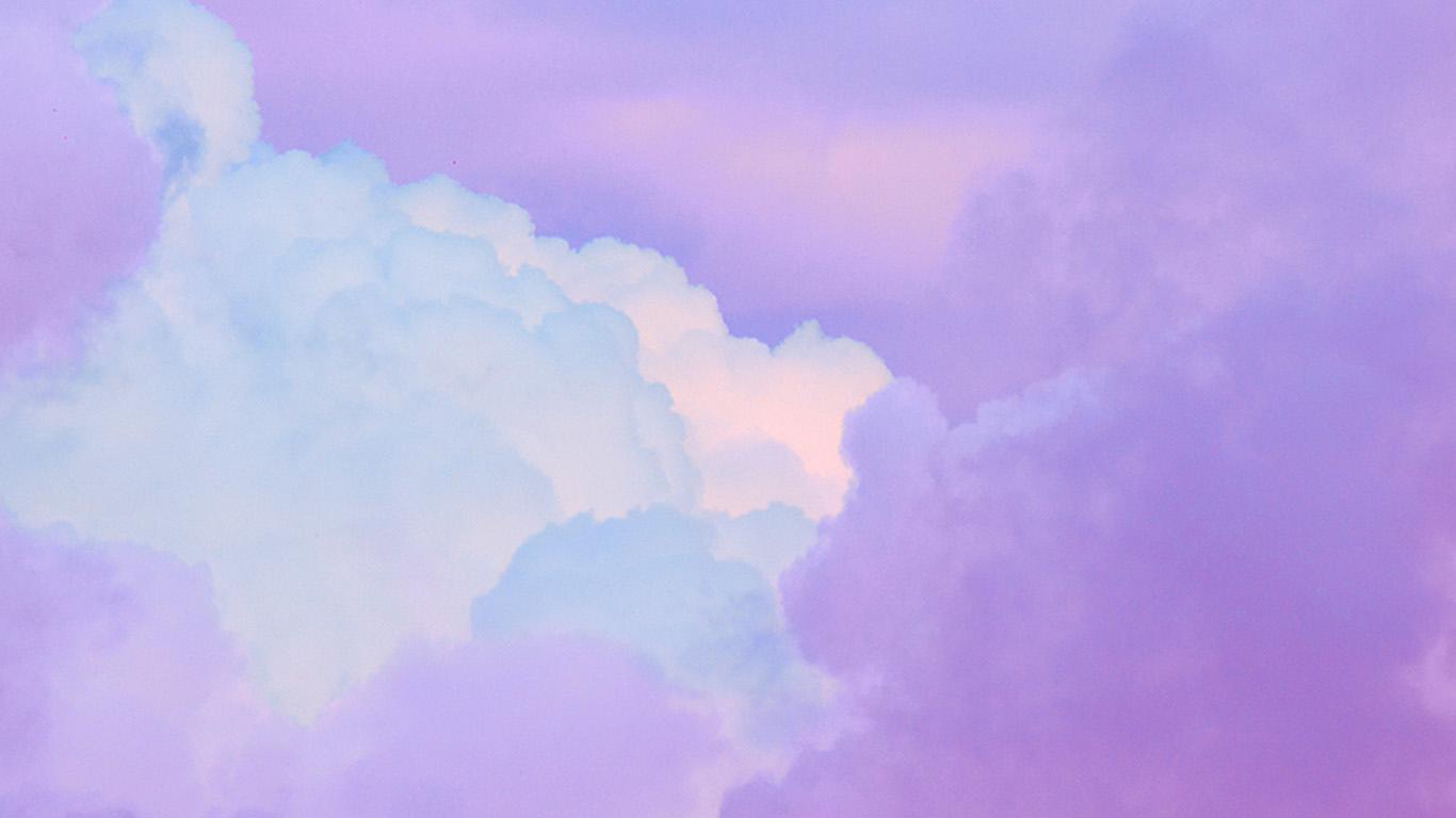 wallpaper-desktop-laptop-mac-macbook-bj18-cloud-sky-purple-art