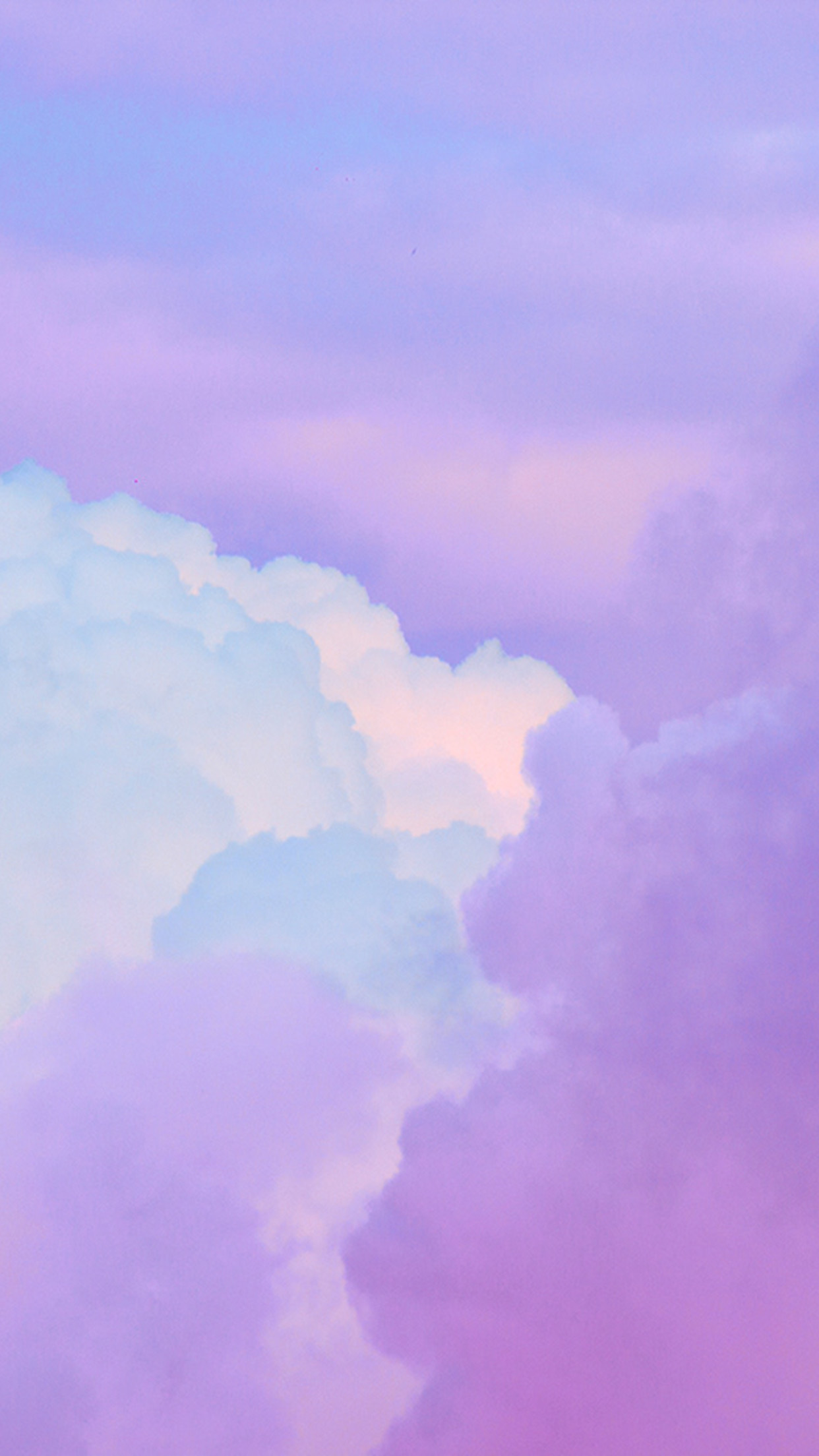 Iphone6papers Com Iphone 6 Wallpaper Bj18 Cloud Sky Purple Art