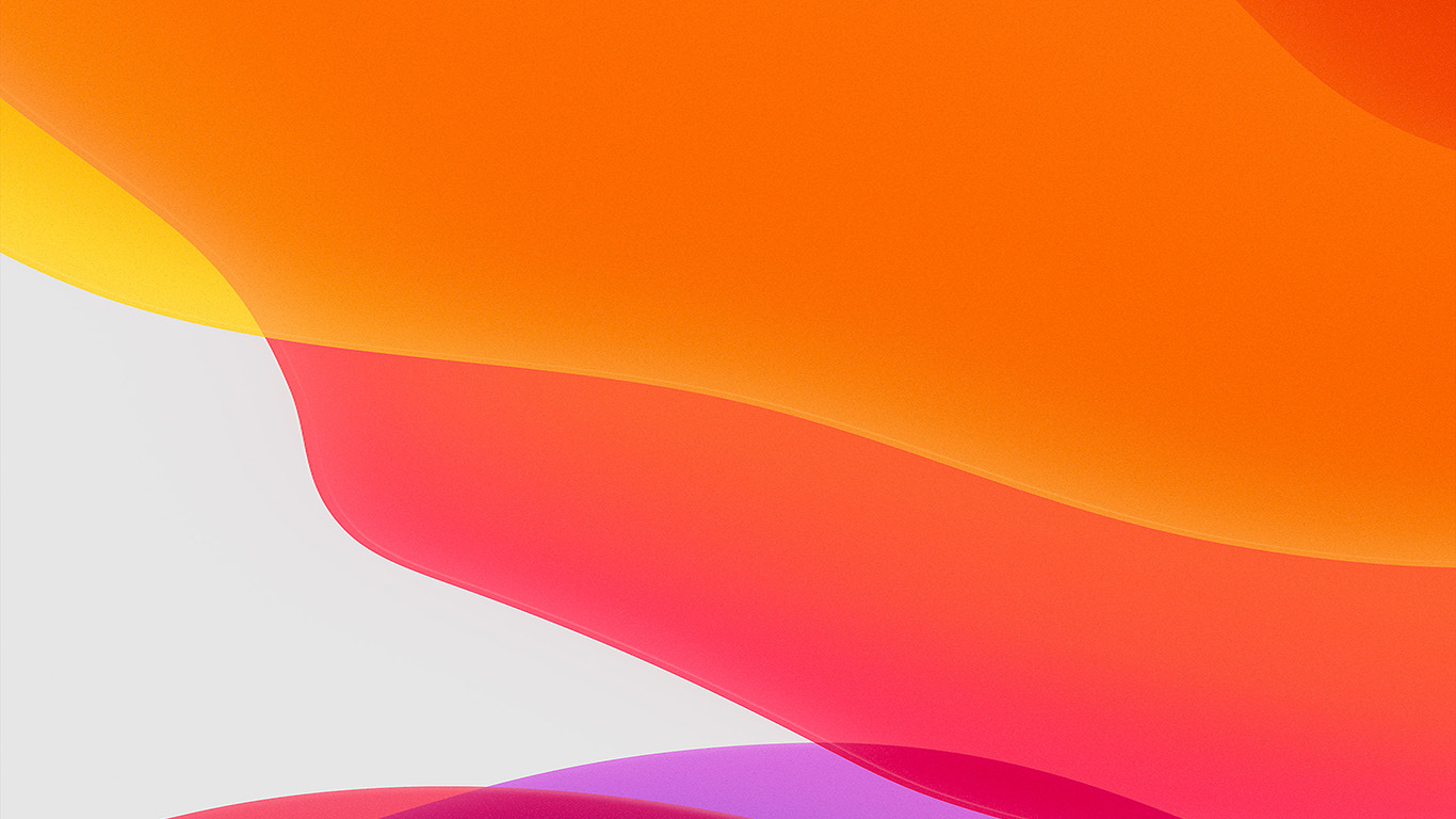 papers.co bj42 apple iphone ios13 background orange art 29 wallpaper