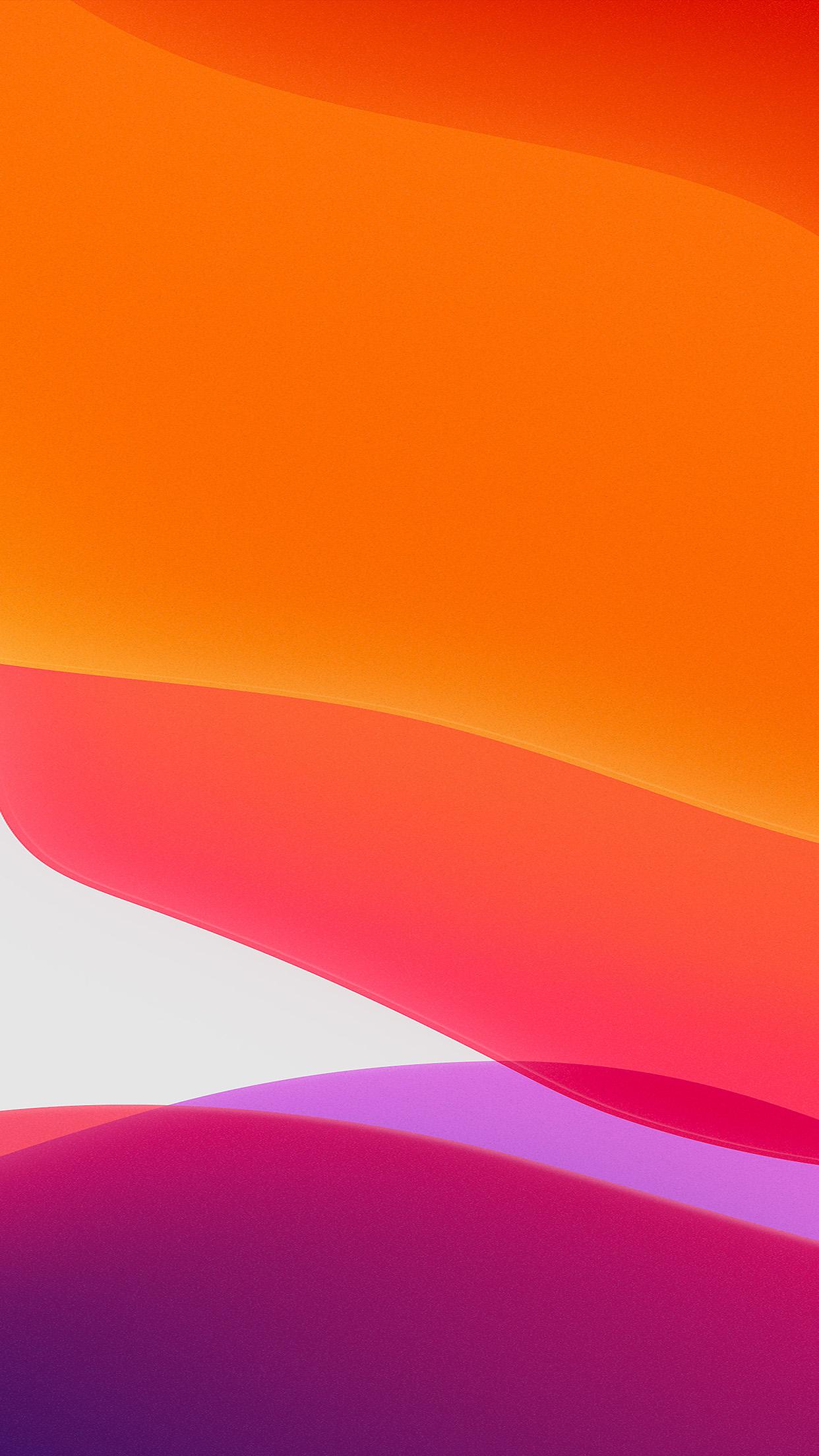 papers.co bj42 apple iphone ios13 background orange art 34 iphone6 plus wallpaper