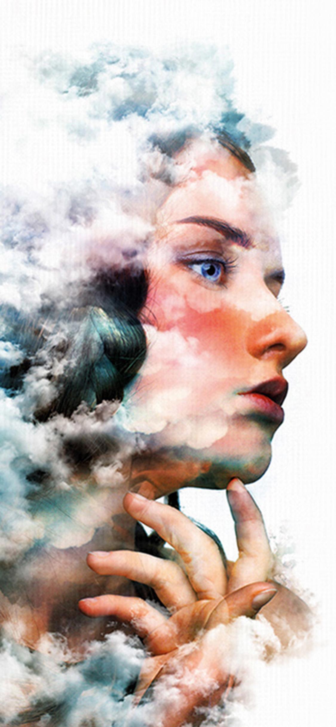 iPhonexpapers.com-Apple-iPhone-wallpaper-bj69-art-face-cloud-girl