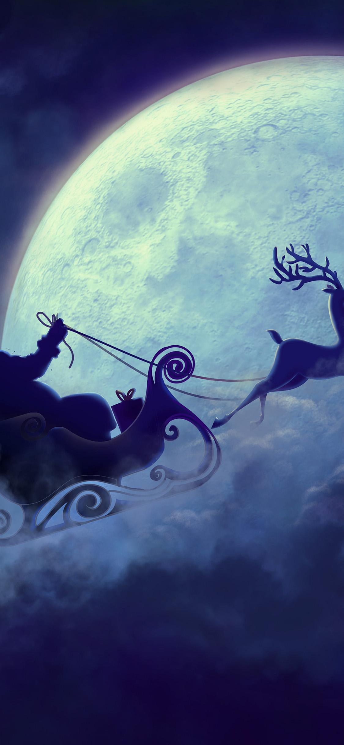 iPhonexpapers.com-Apple-iPhone-wallpaper-bj82-art-christmas-santa-night