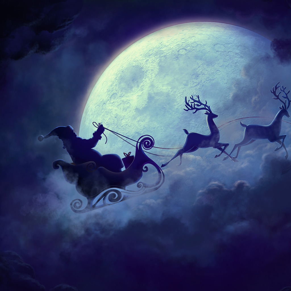 android-wallpaper-bj82-art-christmas-santa-night-wallpaper