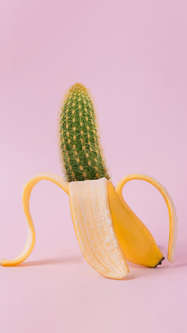 iPhone6papers.co-Apple-iPhone-6-iphone6-plus-wallpaper-bj86-art-banana-cactus