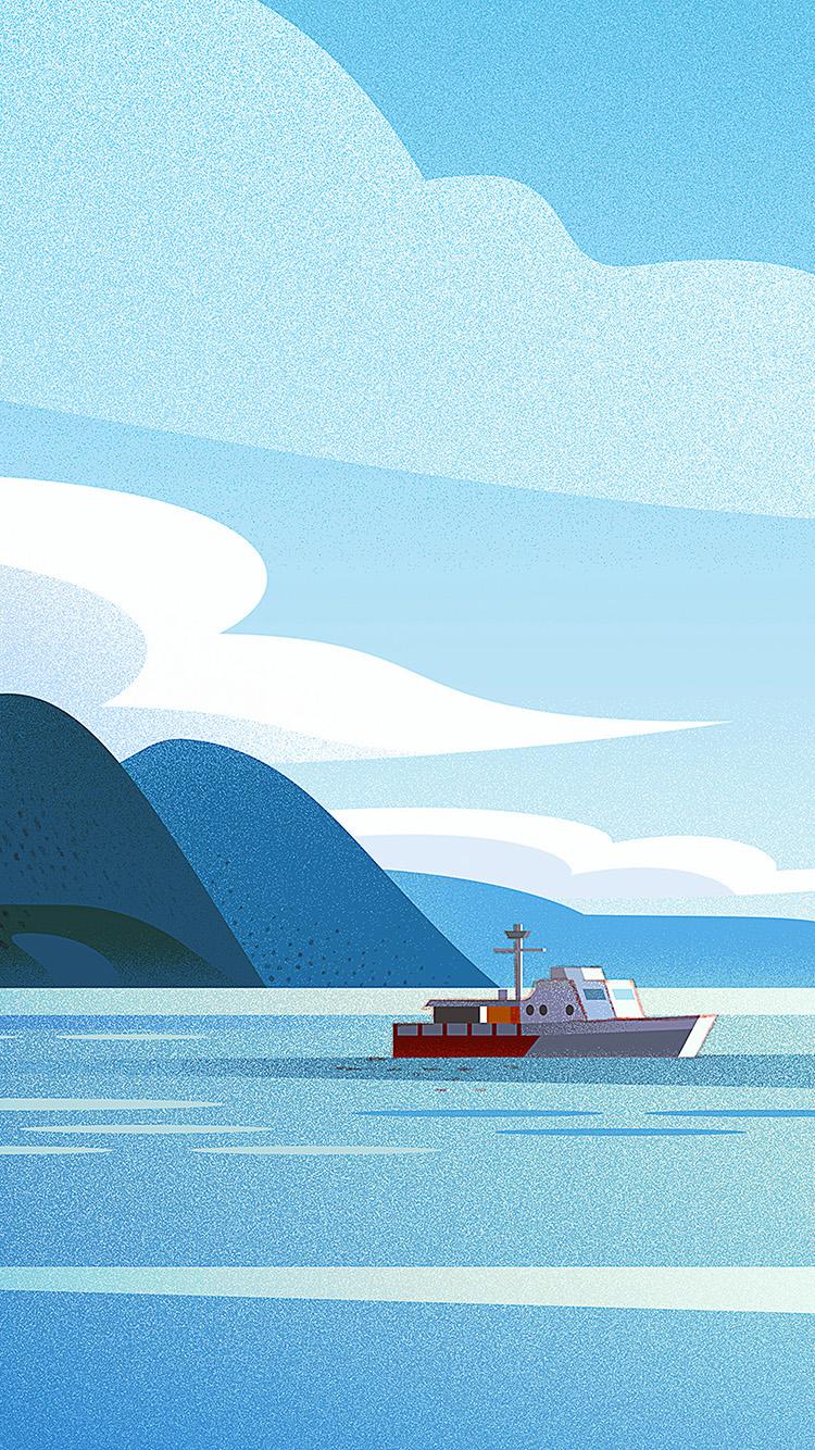 iPhone7papers.com-Apple-iPhone7-iphone7plus-wallpaper-bj98-art-boat-illust-sea