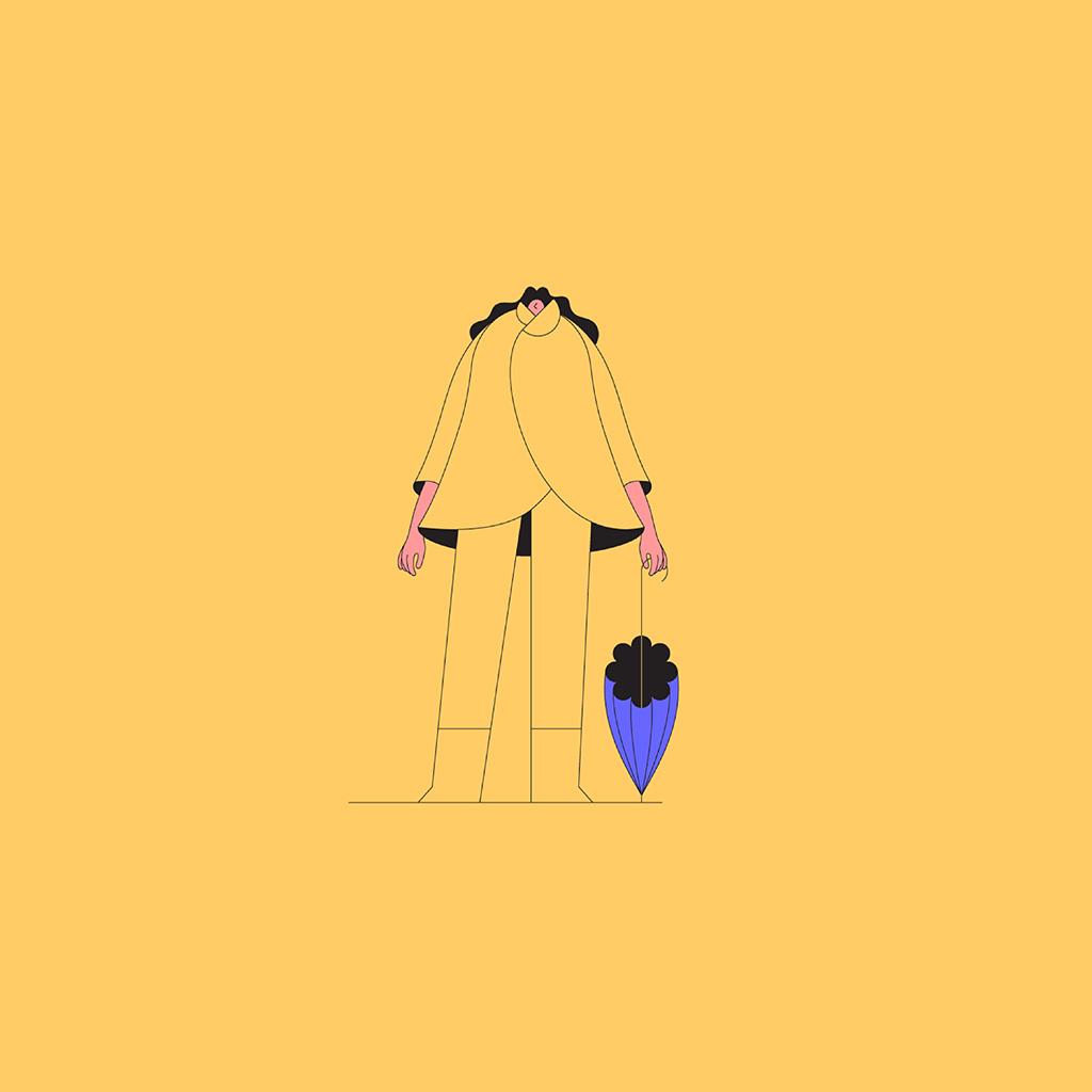wallpaper-bk23-art-illust-minimal-simple-yellow-wallpaper