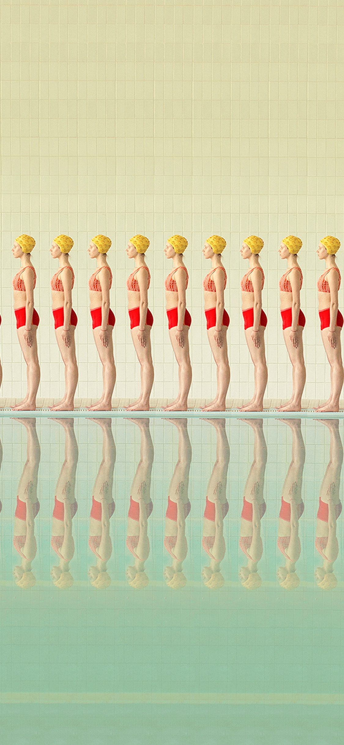 iPhonexpapers.com-Apple-iPhone-wallpaper-bk42-art-swimming-pool-girls
