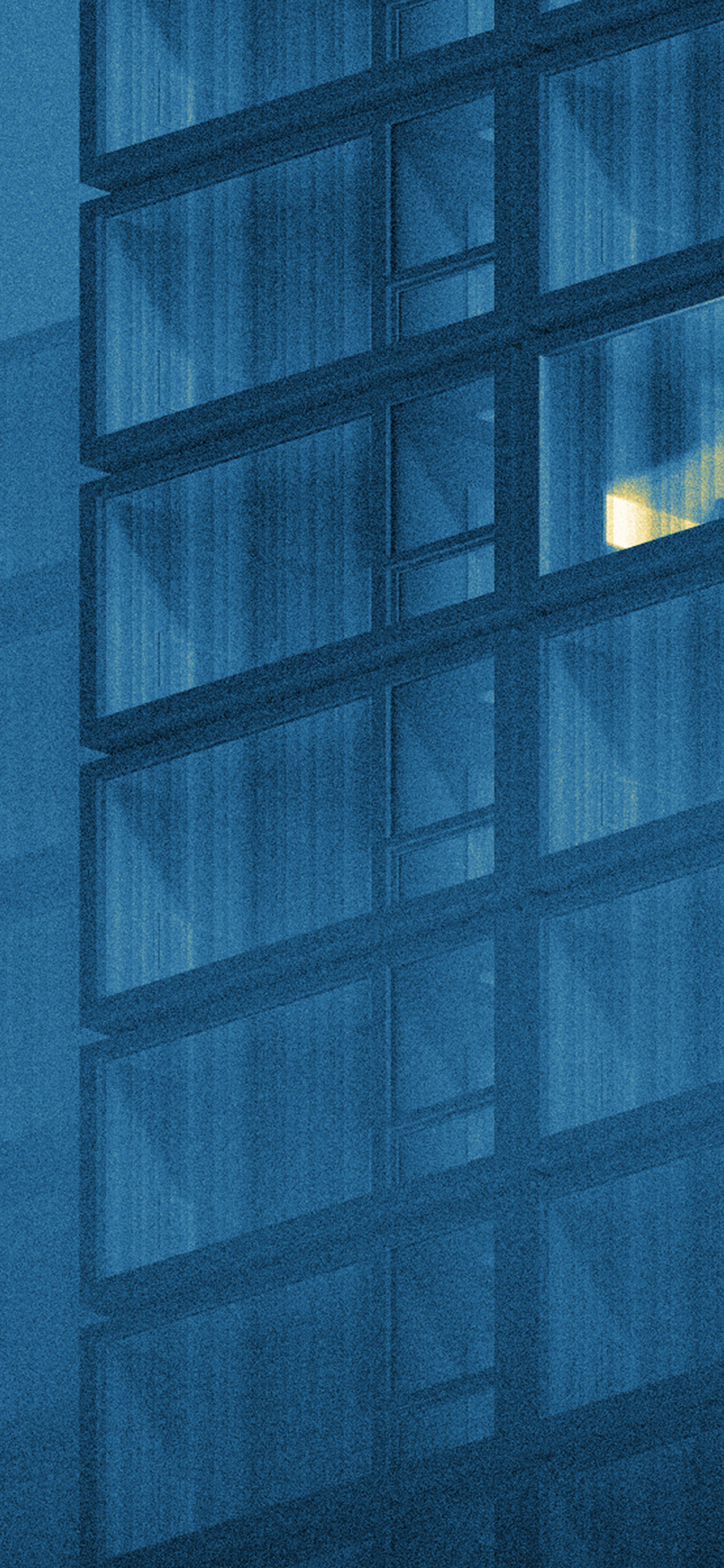 iPhonexpapers.com-Apple-iPhone-wallpaper-bk54-art-blue-night-office-illust