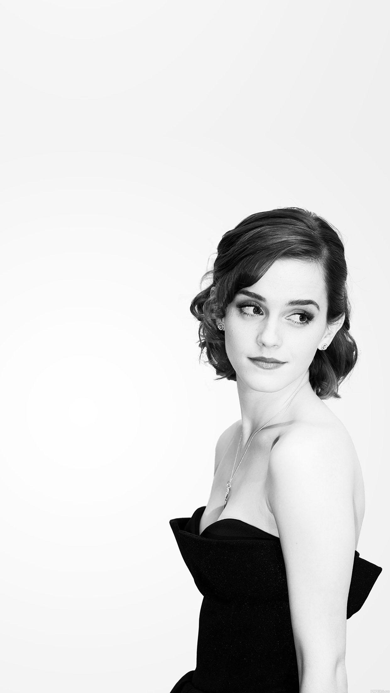 Ha19 watson emma in dress beauty girl film face - Emma watson iphone ...