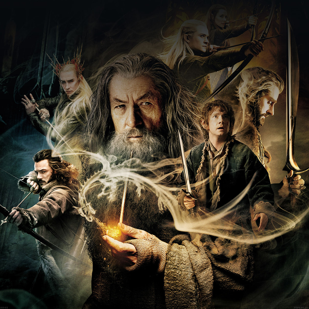 Dwarves The Hobbit Fan Art