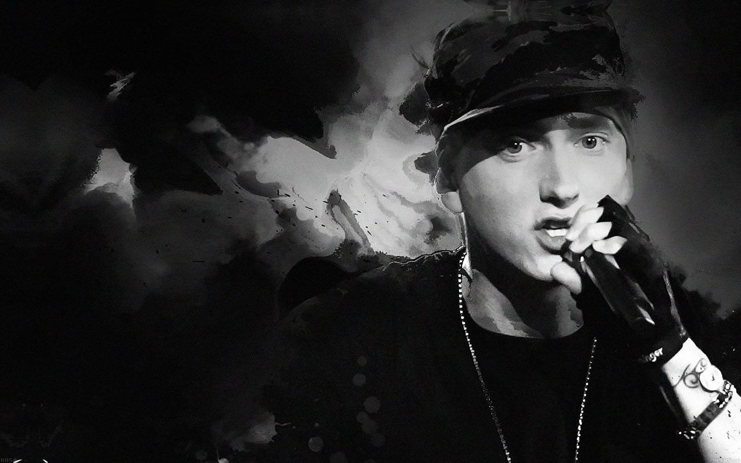 Ha50-wallpaper-eminem-music-face