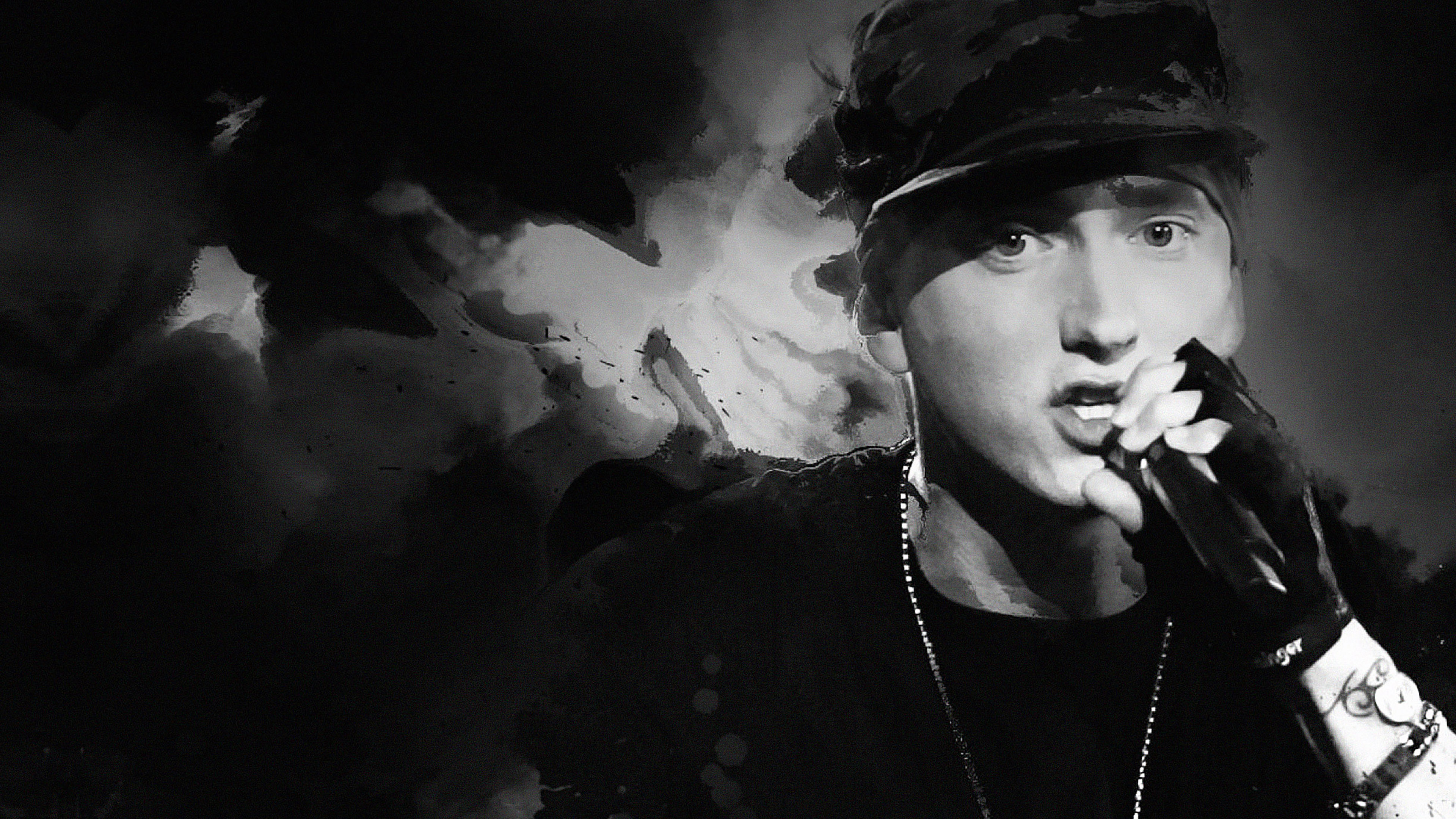ha50-wallpaper-eminem-music-face - Papers.co