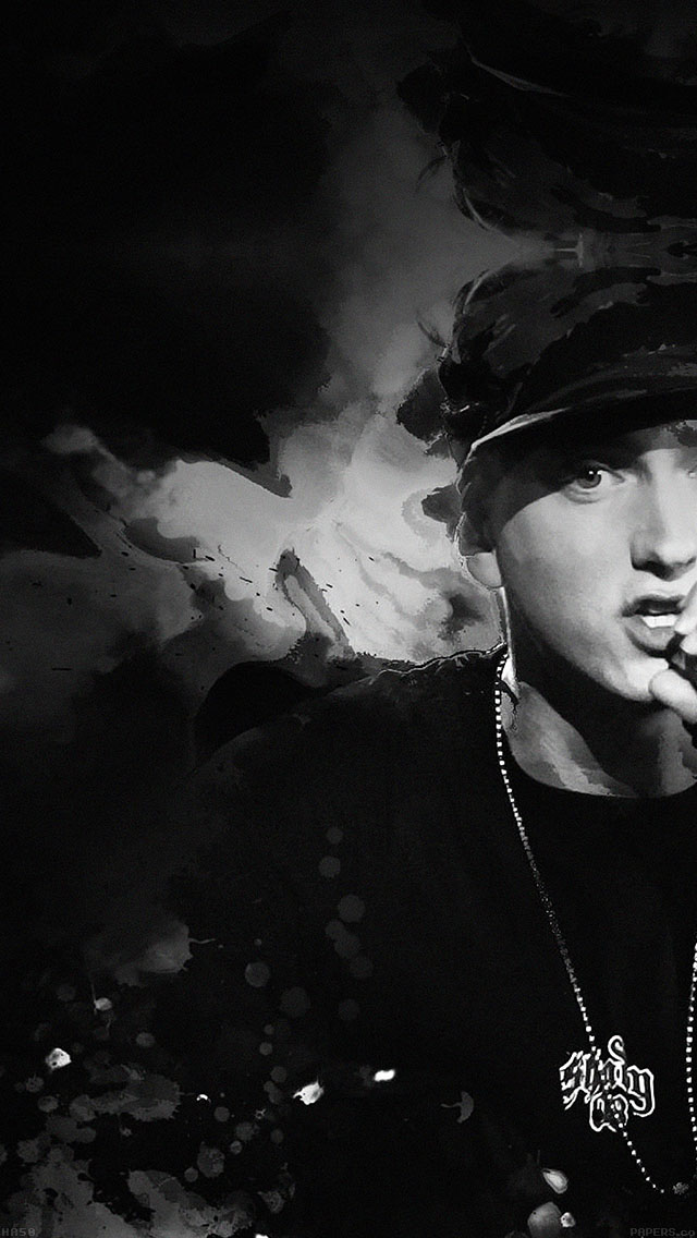 freeios8.com-iphone-4-5-6-ipad-ios8-ha50-wallpaper-eminem-music-face