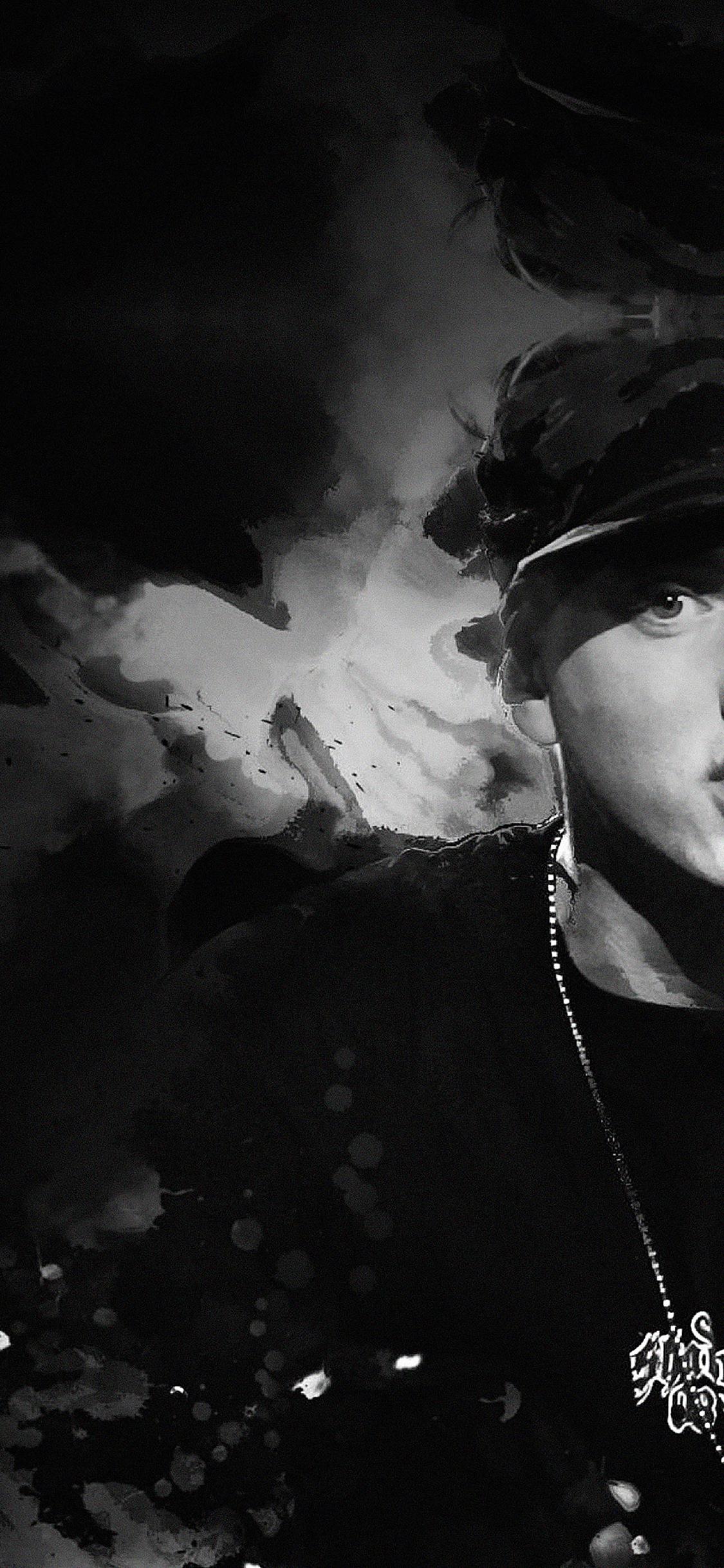 Papersco Iphone Wallpaper Ha50 Wallpaper Eminem Music Face