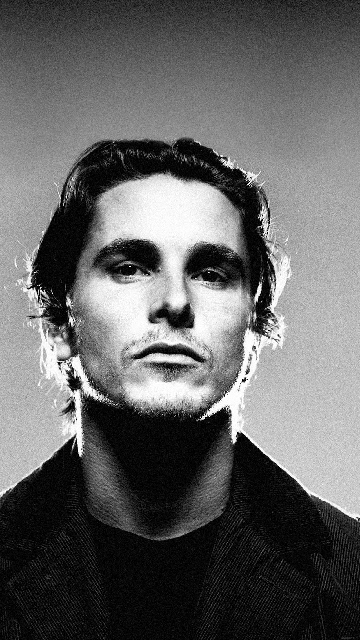 Iphone6papers Ha53 Wallpaper Christian Bale Film Face