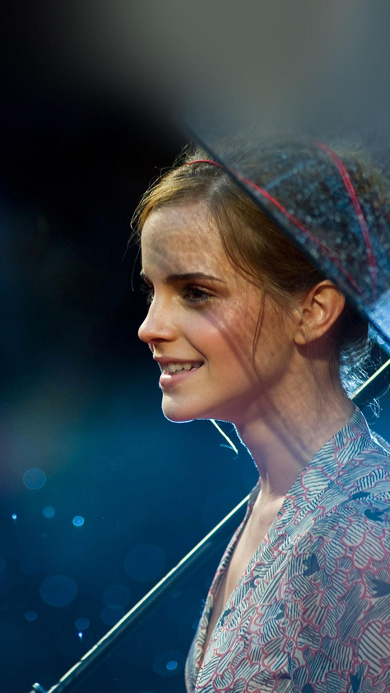 I Love Papers Ha55 Wallpaper Emma Watson In Rain Girl Film Face