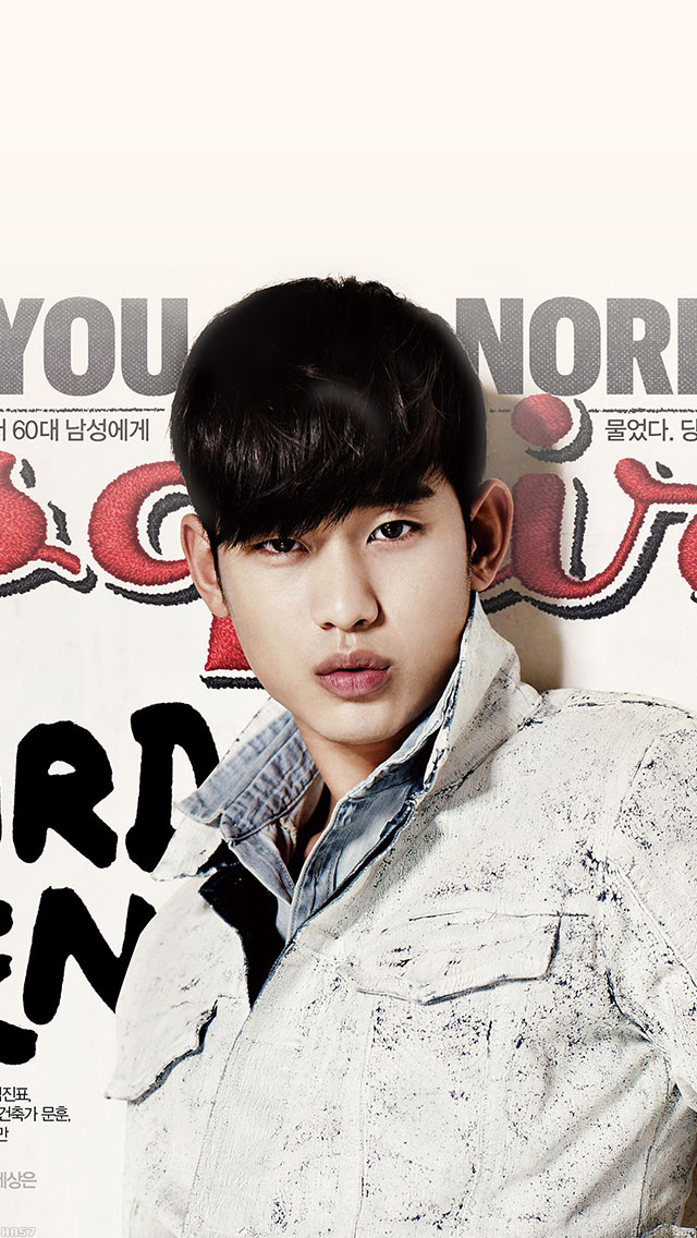 freeios8.com-iphone-4-5-6-ipad-ios8-ha57-wallpaper-esquire-kim-soo-hyun-film-face-star