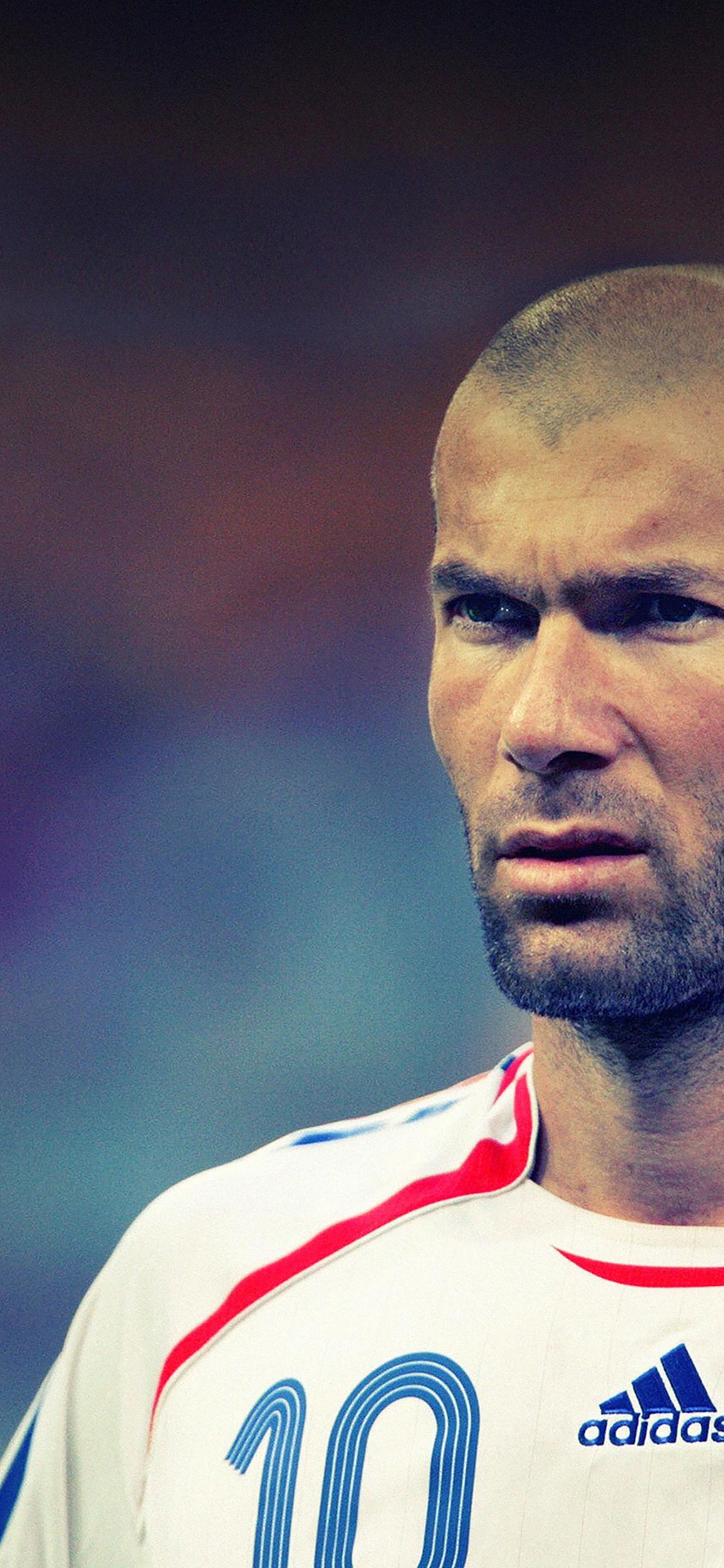 iPhoneXpapers.com-Apple-iPhone-wallpaper-ha75-wallpaper-zidane-soccer-star-sports