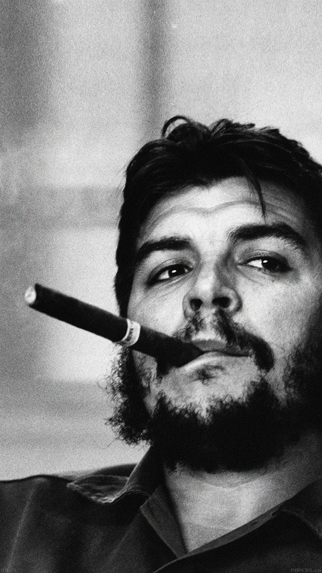 freeios8.com-iphone-4-5-6-ipad-ios8-ha79-wallpaper-che-guevara-face