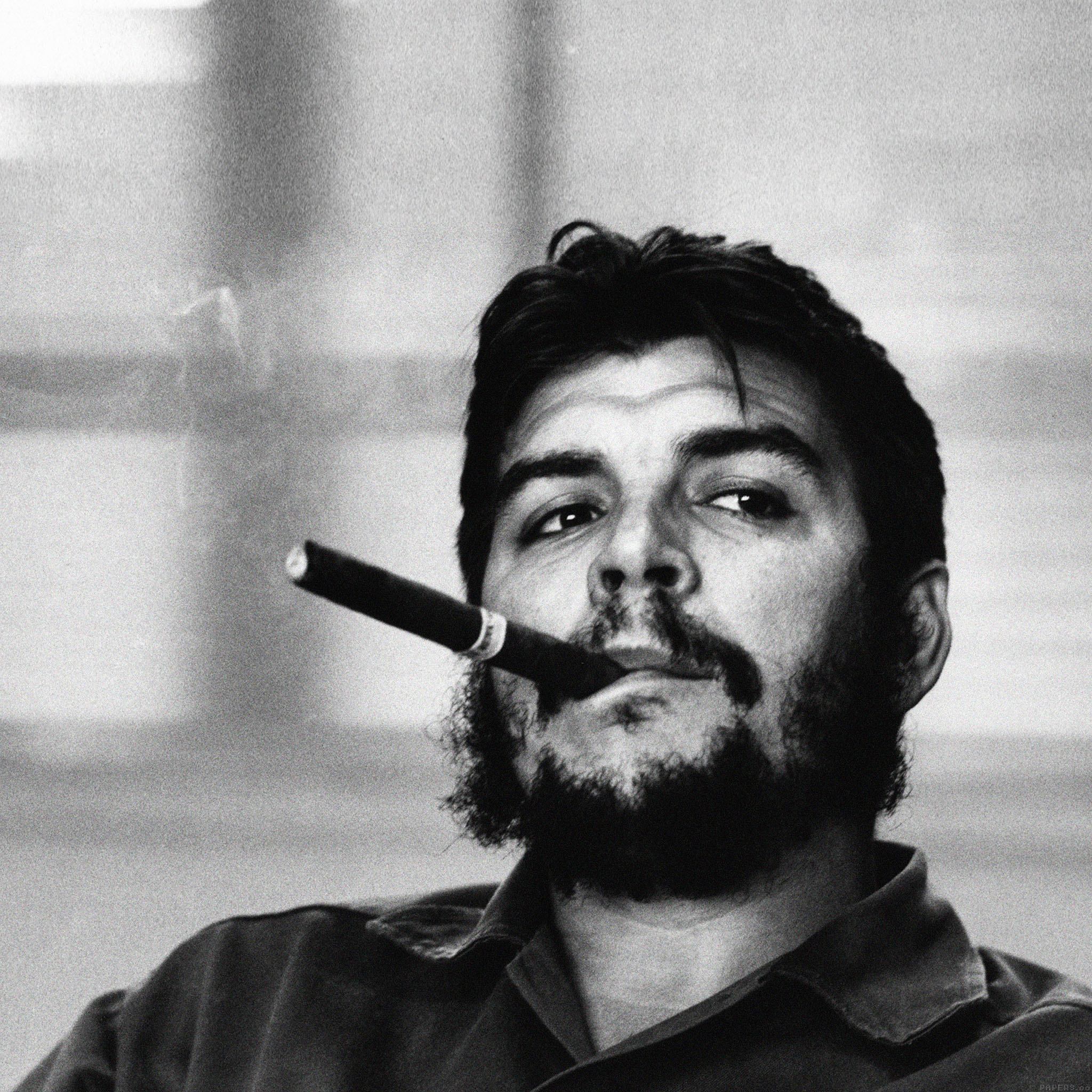 ha79-wallpaper-che-guevara-face - Papers.co