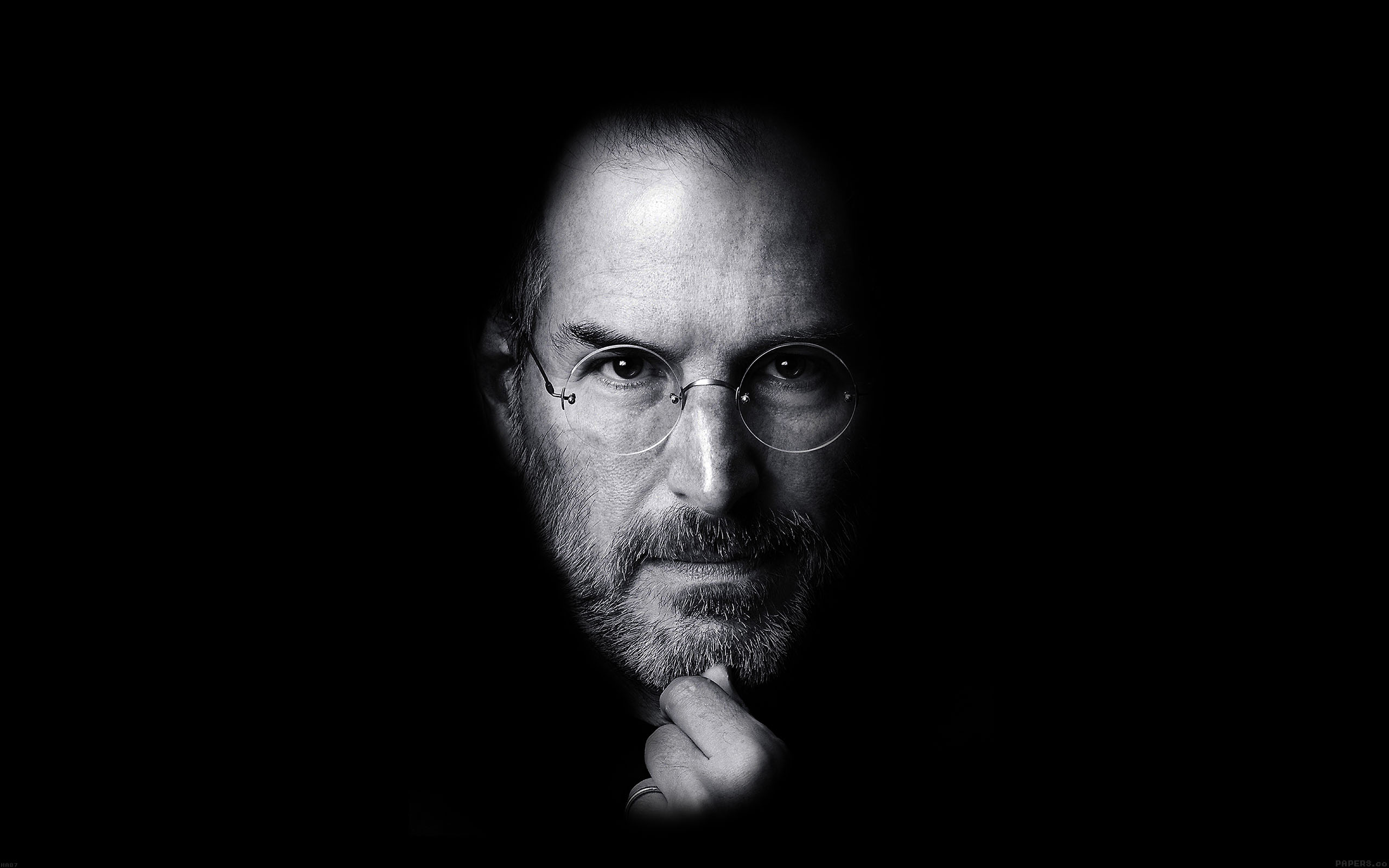 ha87-wallpaper-steve-jobs-face-apple - Papers.co