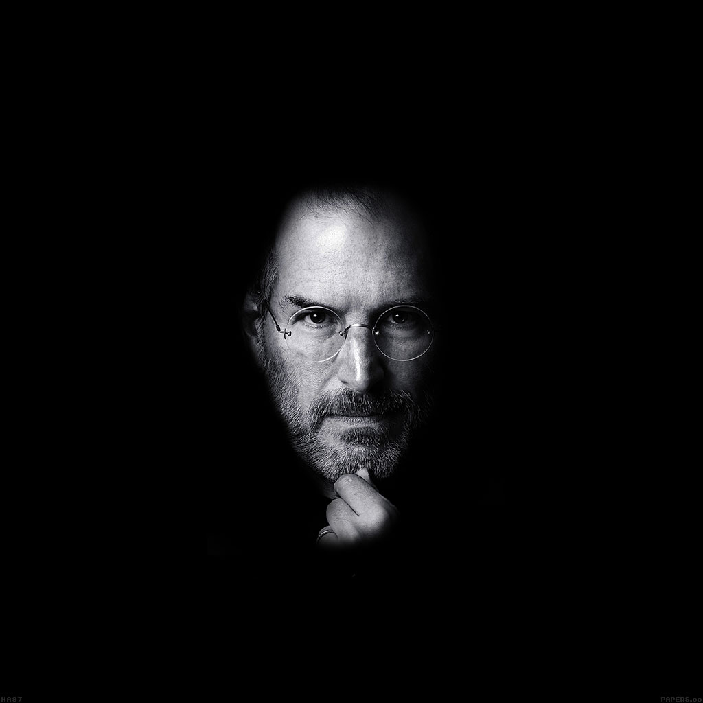 Steve Jobs Quotes Hd Wallpapers: Ha87-wallpaper-steve-jobs-face-apple