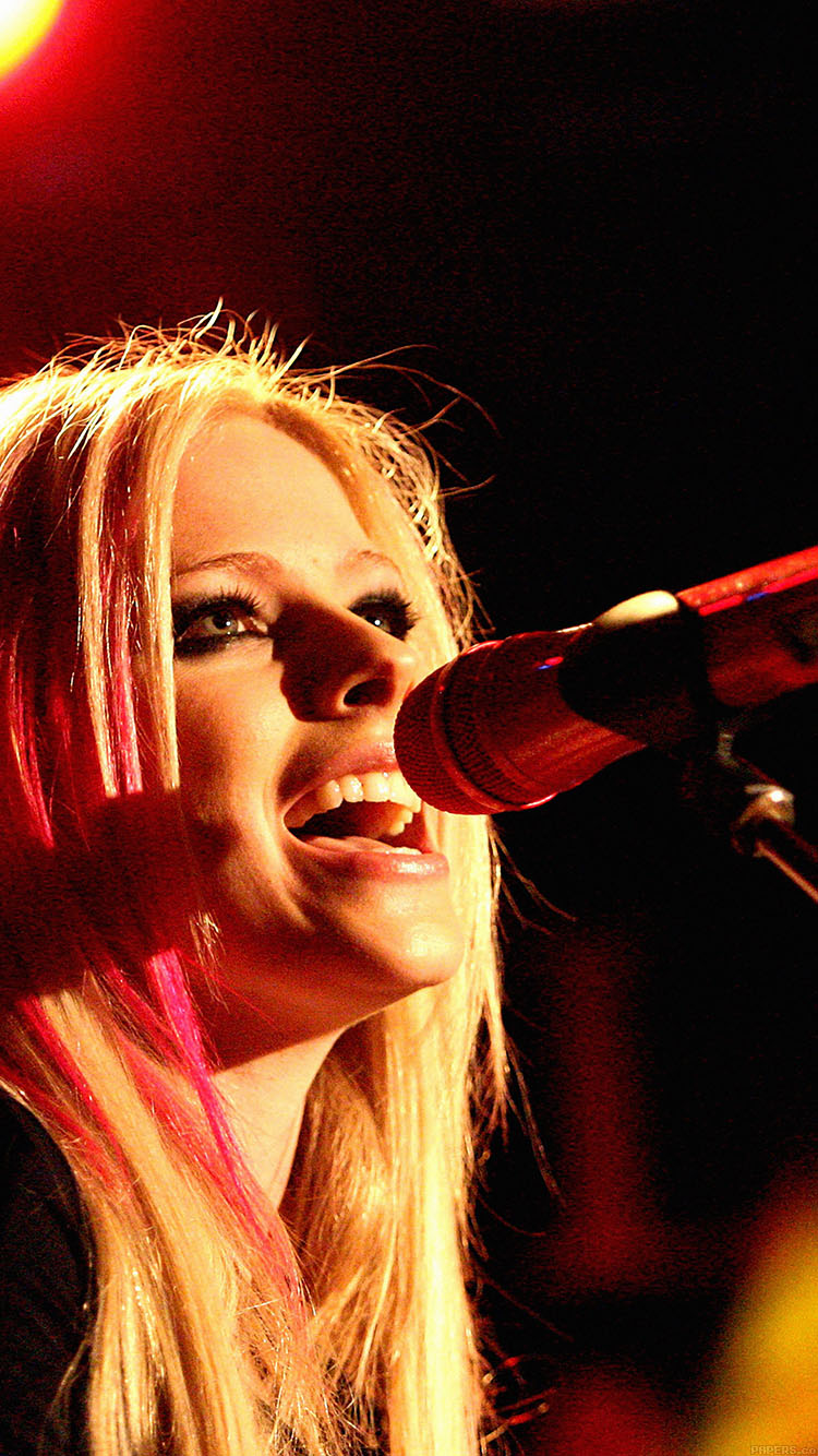 iPhone6papers.co-Apple-iPhone-6-iphone6-plus-wallpaper-hb39-wallpaper-avril-lavigne-sing-concert