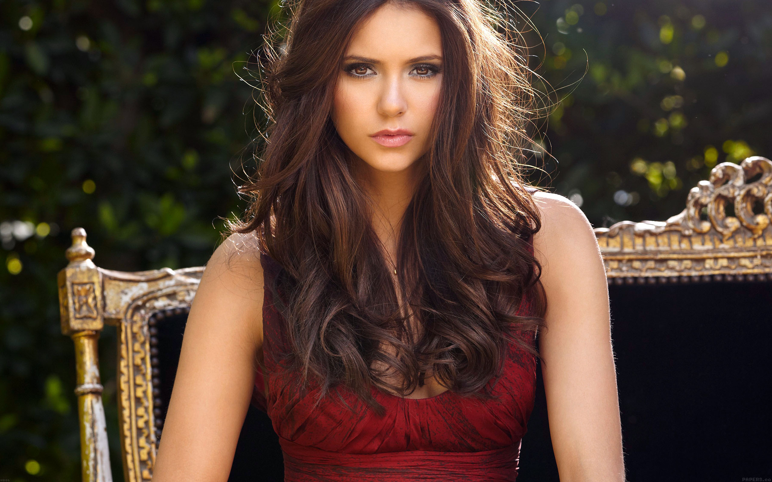 hb86-nina-dobrev-actress-cute - Papers.co