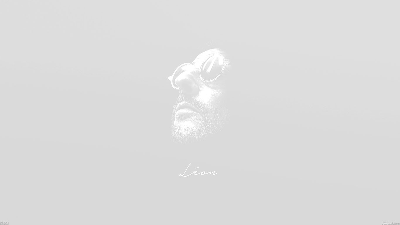 iPapers.co-Apple-iPhone-iPad-Macbook-iMac-wallpaper-hc13-leon-face-minimal-white-simple-art-wallpaper