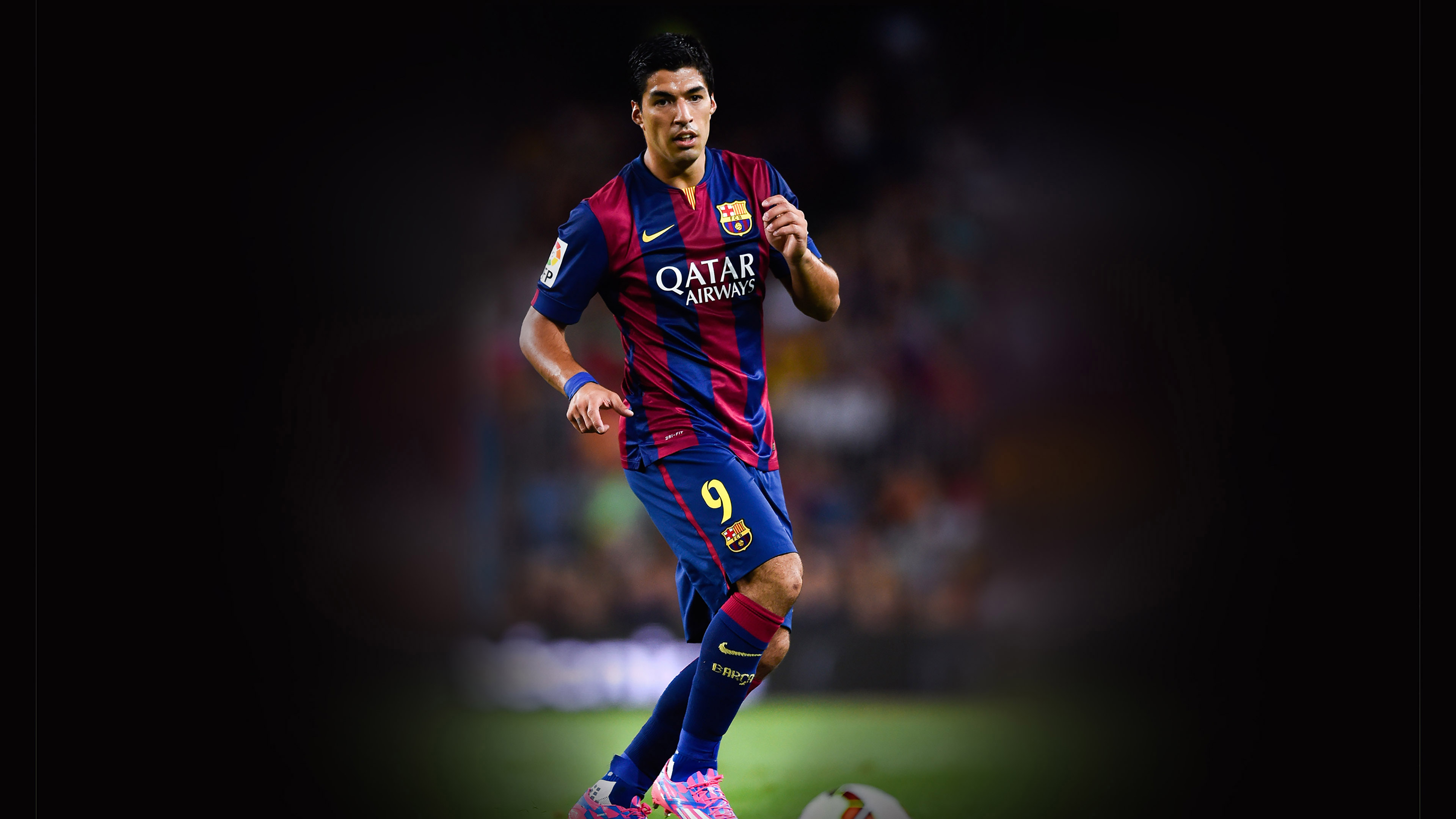 Hc52 Suarez Barcelona Welcome El Clasico Soccer Papers Co