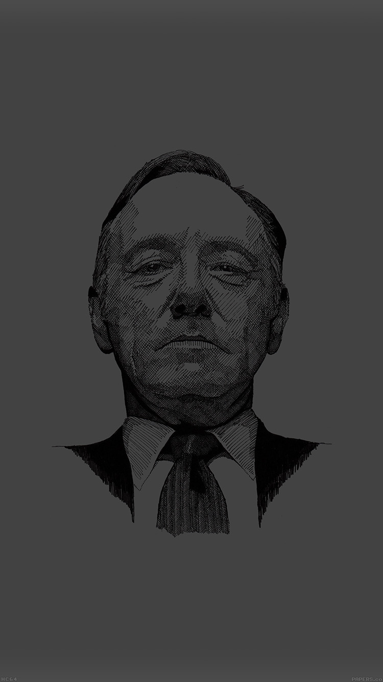 Papers Co Iphone Wallpaper Hc64 House Of Cards Kevin Spacey Actor