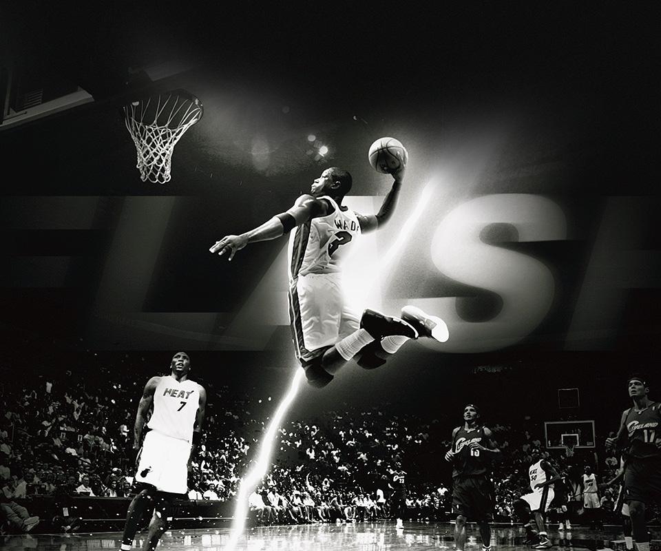 Hc84 Dwyane Wade Dunk Nba Flash Sports: Galaxy S3 Mini