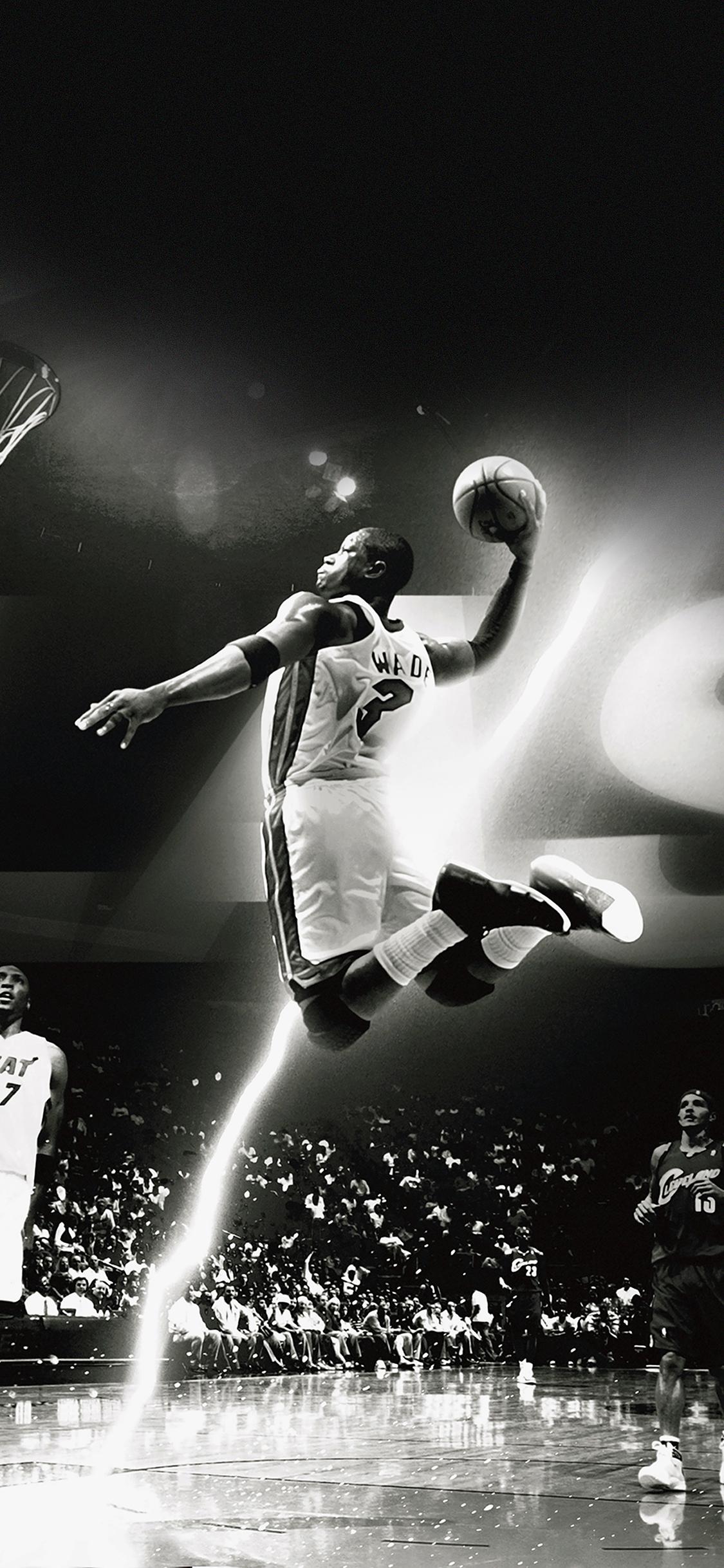 iPhoneXpapers.com-Apple-iPhone-wallpaper-hc84-dwyane-wade-dunk-nba-flash-sports