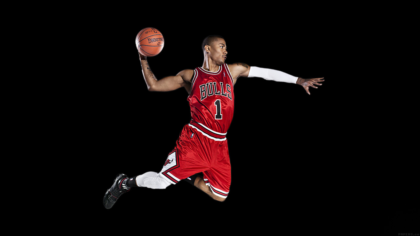 iPapers.co-Apple-iPhone-iPad-Macbook-iMac-wallpaper-hd02-chicago-bulls-derrick-rose-dark-sports-wallpaper