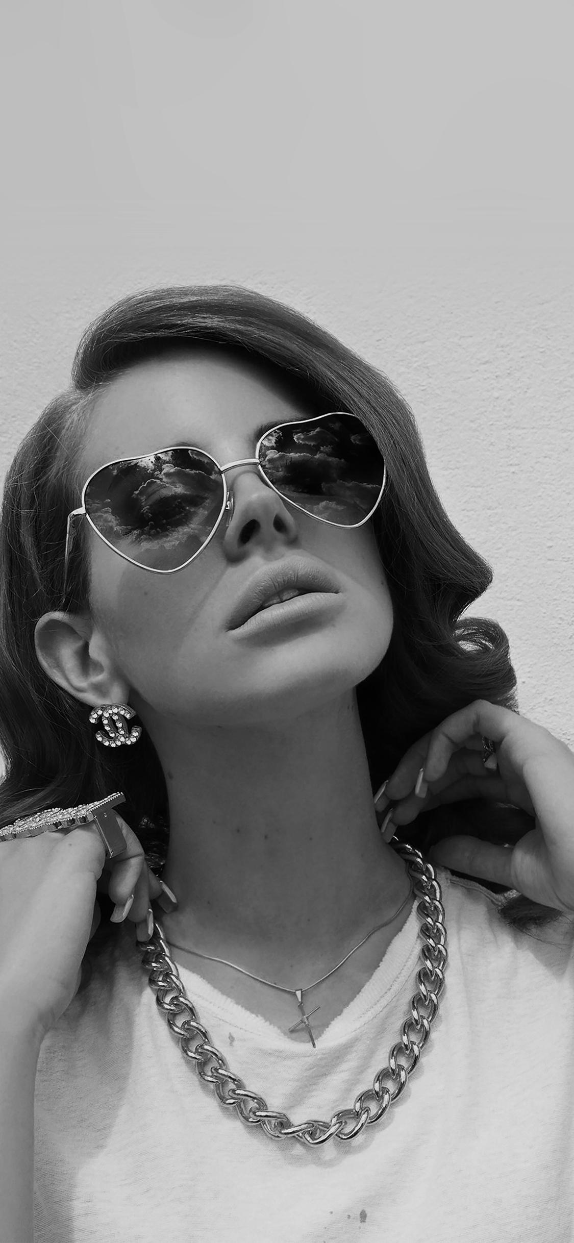 Iphonexpapers Hd10 Lana Del Rey Music Dark Singer Celebrity
